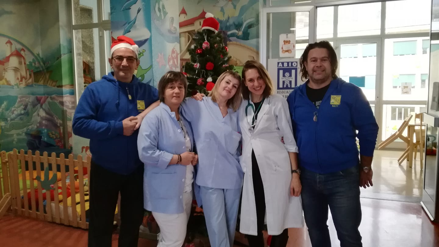 Natale 2018 in pediatria a Sondrio